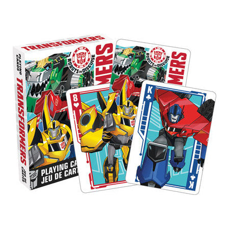 CARD GAMES Transformers - Robots in Disguise Playing Cards