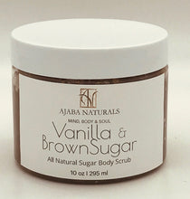 Vanilla & Brown Sugar Body Scrub Sugar Scrub AJABA NATURALS™ Vanilla & Brown Sugar Body Scrub