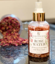 All Natural Rose Water Spray w/ Witch Hazel Spray/ Toner AJABA NATURALS®