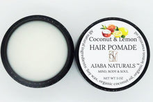 Coconut & Lemon Hair Pomade Wax