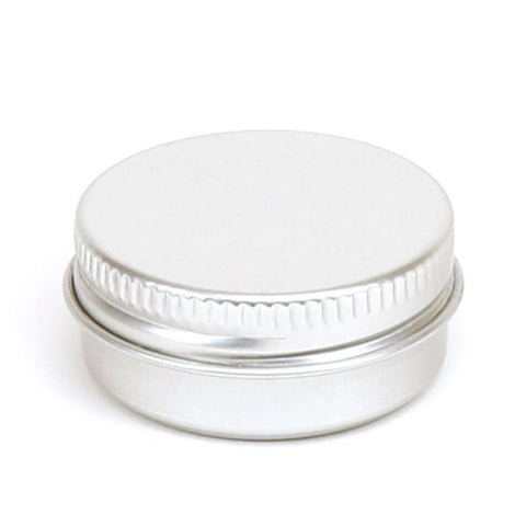 10ml Round Aluminium Screw Lid Tin