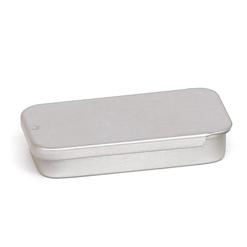 10ml Silver Sliding Lid Storage Tin