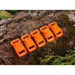 10mm Paracord Buckles - Orange