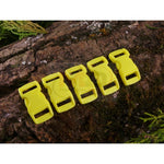 10mm Paracord Buckles - Pastel Yellow