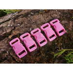 10mm Paracord Buckles - Pink