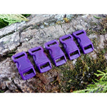 10mm Paracord Buckles - Purple