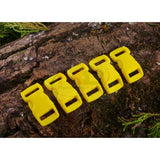 10mm Paracord Buckles - Yellow