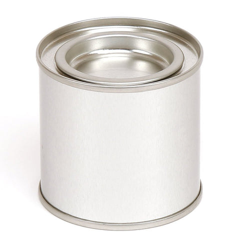 125ml Round Paint Pot Tin