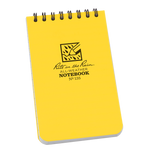 "Rite in the Rain 3"" x 5"" Yellow Waterproof Notepad"