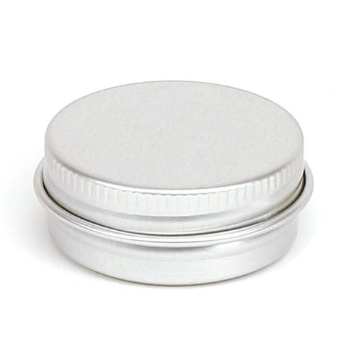 15ml Round Aluminium Screw Lid Tin