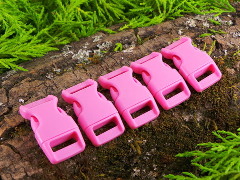 15mm Paracord Buckles Pink