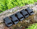 15mm Paracord Buckles Black