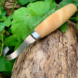 Mora 164 Spoon Carving Hook Knife
