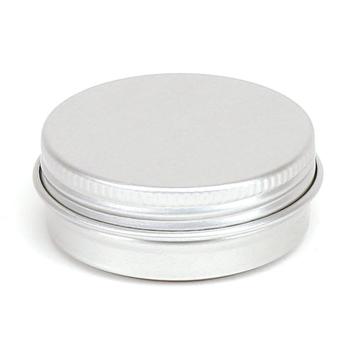 30ml Round Aluminium Screw Lid Tin