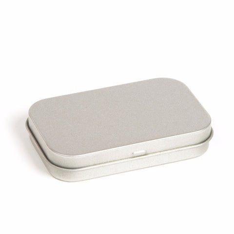 30ml Silver Hinged Storage Tin