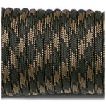 550 USA Made Paracord - Woodland Camo