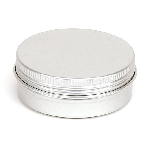60ml Round Aluminium Screw Lid Tin
