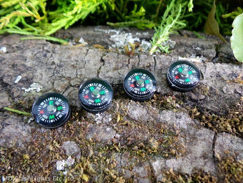 12mm Liquid Filled Button Compass