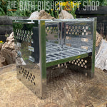 Stainless Steel Multi Fuel Folding Stove