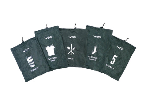 DD Organiser Bags - Pack of 5