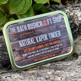 Natural Kapok Fire Starting Tinder (Gold)