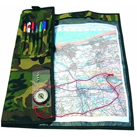 BCB DPM Commanders Waterproof Map Case