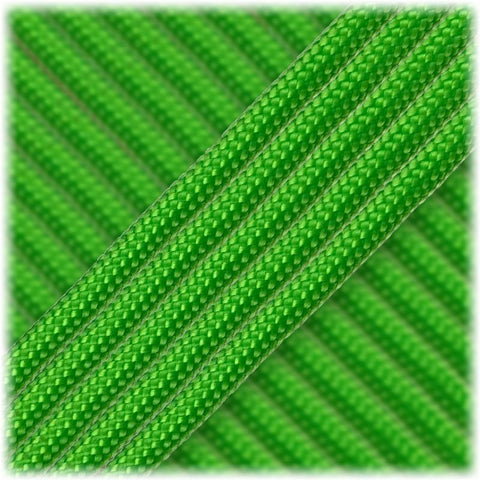 550 Paracord USA Made - Neon Green - 100ft