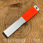 Rogan Pack Tool Single Bevel Pry Bar - Orange