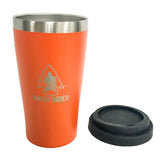 Pathfinder Orange Steel Pint