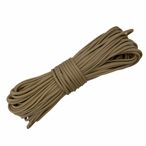 550 Paracord USA Made - Sand - 100ft