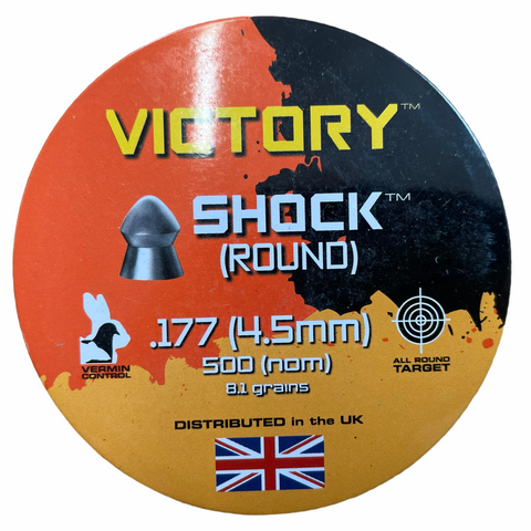 Victory Shock Round .177 Airgun Pellets