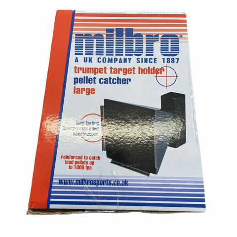 Milbro 17cm Trumpet Target Holder & Pellet Catcher