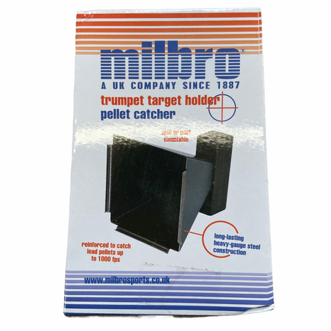 Milbro 14cm Trumpet Target Holder & Pellet Catcher