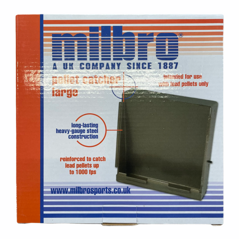 Milbro 17cm Target Holder & Pellet Catcher