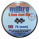 Milbro 9.5mm Steel BB's Slingshot Ammo