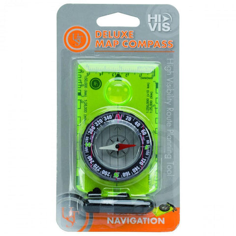 UST Deluxe Hi Visibility Map Compass