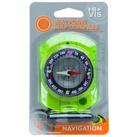 UST Waypoint Hi Visibility Map Compass