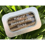 Natural Beeswax Jute Tinder Sticks