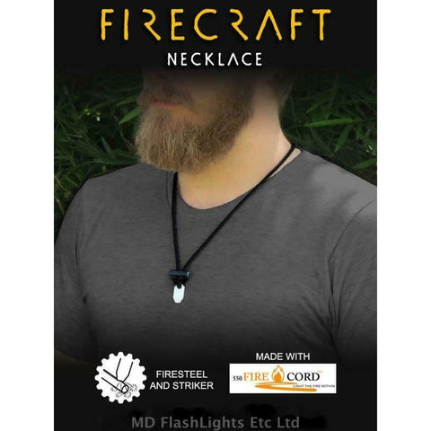 Wazoo Firecraft Firecord Necklace