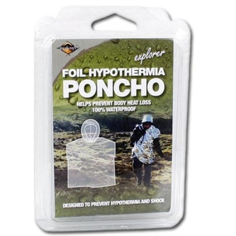 BCB Emergency Foil Poncho