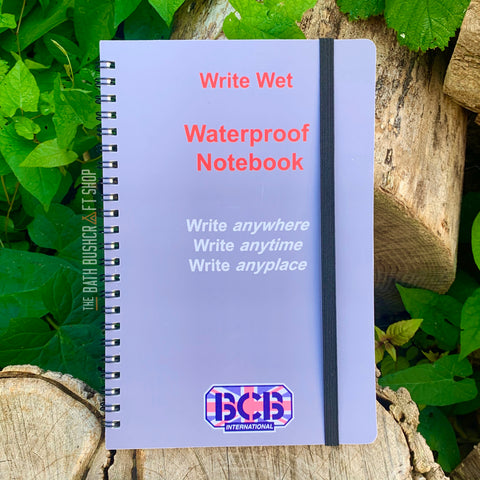BCB A5 Write Wet Waterproof Notepad