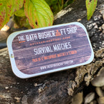 12 x Stormproof Survival Matches & Tin