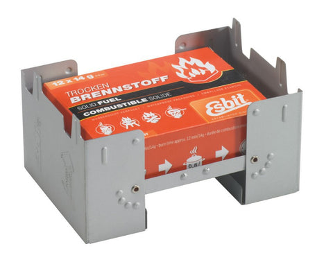 Esbit Large Pocket Stove & 12 x 14g Fuel Tablets
