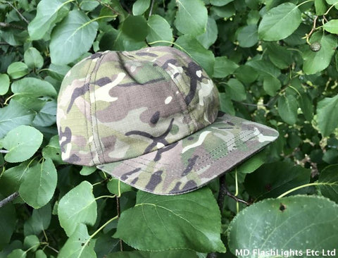Kids British Terrain Pattern Baseball Cap