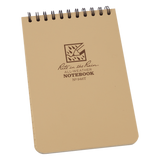 "Rite in the Rain 4"" x 6"" Tan Waterproof Notepad"