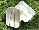 Aluminium 2 Piece Mess Tin Set