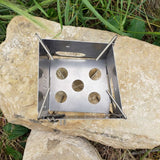 Firebox Nano Stove Stainless Steel