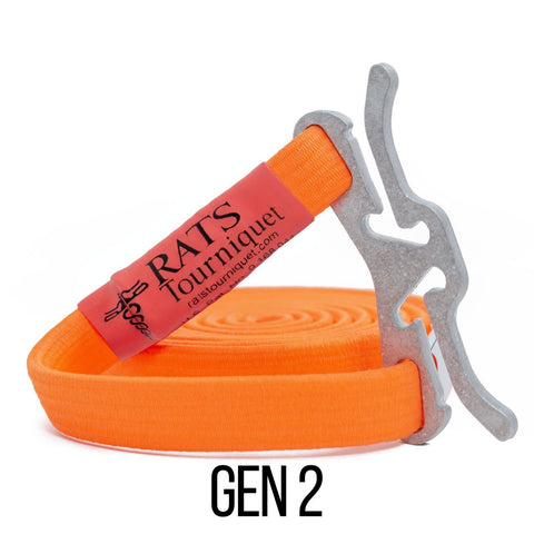 Rats Gen 2 Rapid Application Tourniquet - Orange