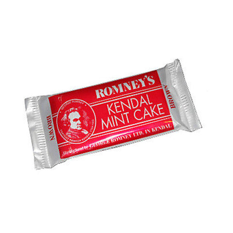 Romney's Kendal Mint Cake - Brown 40g