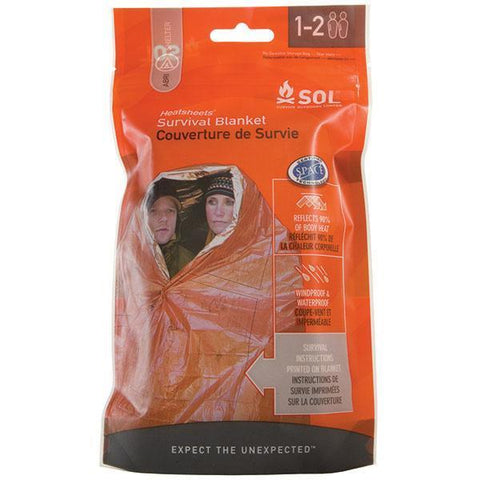 SOL 2 Person Emergency Foil Blanket